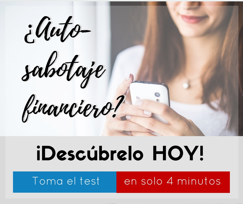 test de autosabotaje financiero
